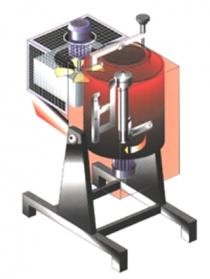 Distillateur de solvants DYnamic avec principe de foncionnement par pâles raclantes